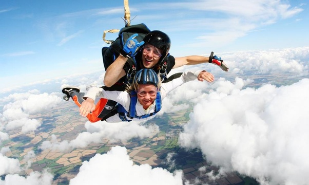 Do a Skydive - Bucket List Ideas
