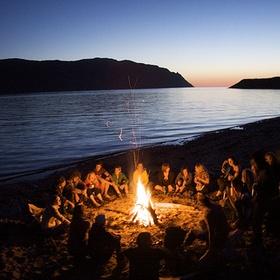 Have a beach bonfire/campout - Bucket List Ideas