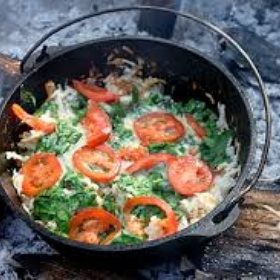 Cook a Ridiculously Complex Meal Over a Campfire - Bucket List Ideas