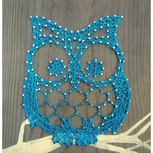 ⚜️Craft: Try String Art/ Pin & Thread Art - Bucket List Ideas