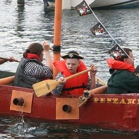 Participate in the Watkins Glen Cardboard Boat Regatta - Bucket List Ideas