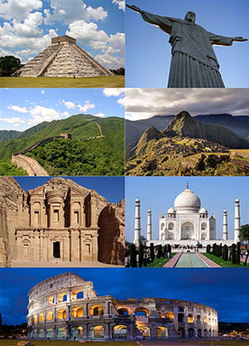Modern 7 wonders of the world - Bucket List Ideas Visit The 7 Wonders Of The World Bucket List Ideas