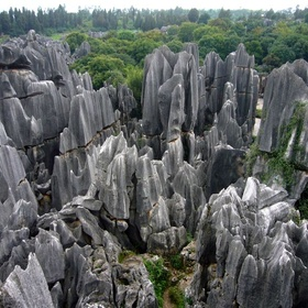 Visit the Shilin Stone Forst, China - Bucket List Ideas