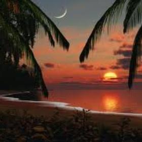 Watch a Tropical Sunset with my S/O - Bucket List Ideas