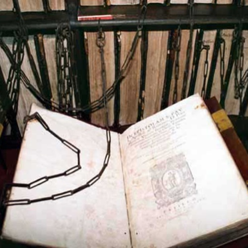Visit a chained library - Bucket List Ideas