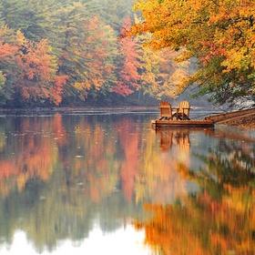 Visit New England during the fall foliage season - Bucket List Ideas