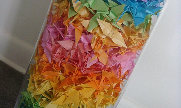 Fold 1000 paper cranes - Bucket List Ideas