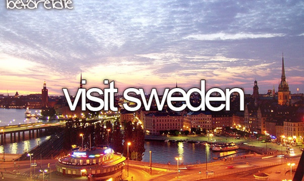 Visit Sweden - Bucket List Ideas