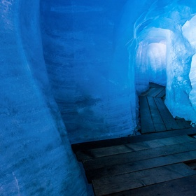 Walk through the ice grotto of Rhone Glacier - Bucket List Ideas