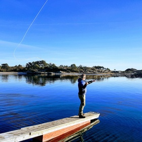 Catch a fish while fly fishing - Bucket List Ideas