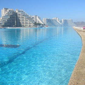 Swim in Chile's largest swimming pool in the world - Bucket List Ideas