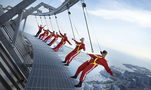 Hang from Toronto's CN Tower - Bucket List Ideas