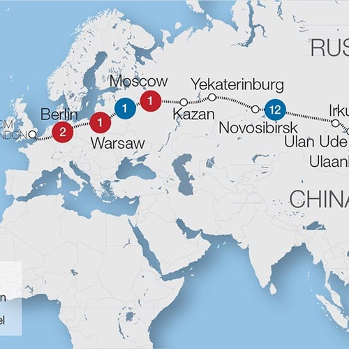 Take the Trans Siberian Express | Siberia - Bucket List Ideas