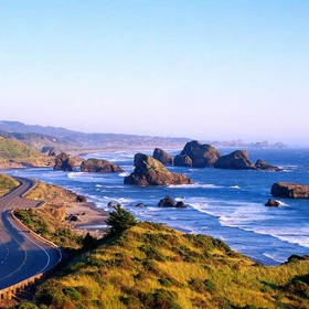 Drive on Highway 101, Oregon - Bucket List Ideas
