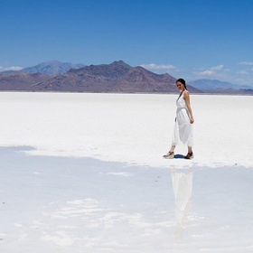 Visit the Bonneville Salt Flats in Utah - Bucket List Ideas