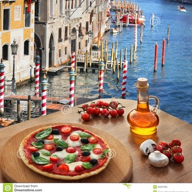 Eat a pizza in italy - Bucket List Ideas