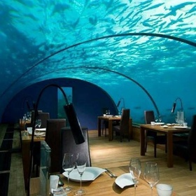 Eat in the underwater restaurant in the Maldives - Bucket List Ideas