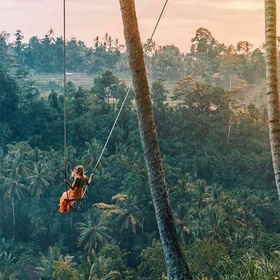 Swing on the Bali Swing - Bucket List Ideas