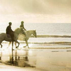 Ride a horse across a beach - Bucket List Ideas