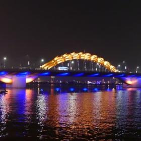Drive on the Dragon Bridge, Danang, Vietnam - Bucket List Ideas