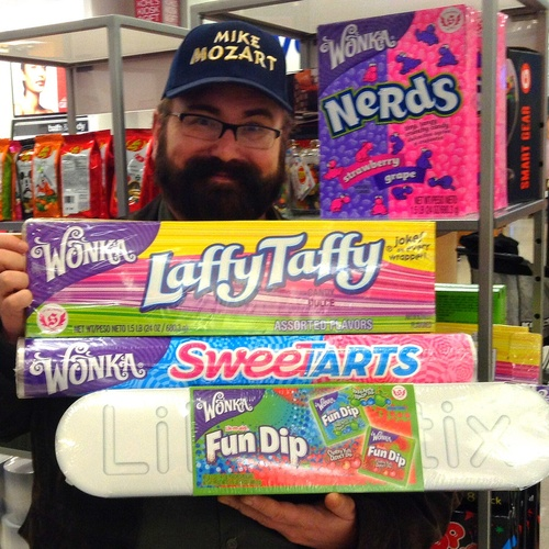 Buy a GIANT candy at 'It's Sugar' candy store - Bucket List Ideas
