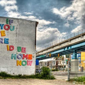 See the love letter murals in Philadelphia - Bucket List Ideas