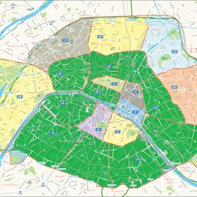 Stay in Each of the Arrondissements of Paris - Bucket List Ideas