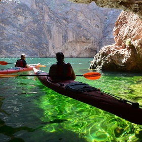 Kayak through caves - Bucket List Ideas