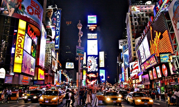Visit Times Square - Bucket List Ideas