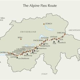 Walk Alpine passes trail - Bucket List Ideas