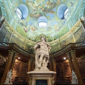 Visit the Österreichische Nationalbibliothek in Austria - Bucket List Ideas