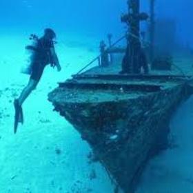 Go scuba diving in a shipwreck - Bucket List Ideas