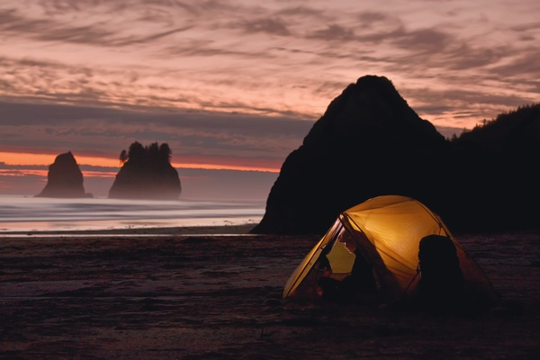 Sleep under the stars on the beach - Bucket List Ideas