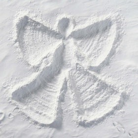 Make a snow angel - Bucket List Ideas