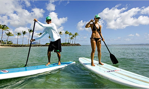 Go paddleboarding - Bucket List Ideas