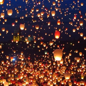 Release Floating Lanterns - Bucket List Ideas