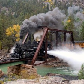 Durango & Silverton Railroad, Colorado - Bucket List Ideas