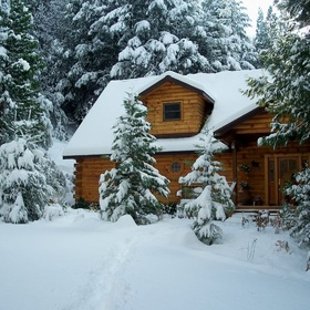 Holiday in a Log Cabin in the snow - Bucket List Ideas