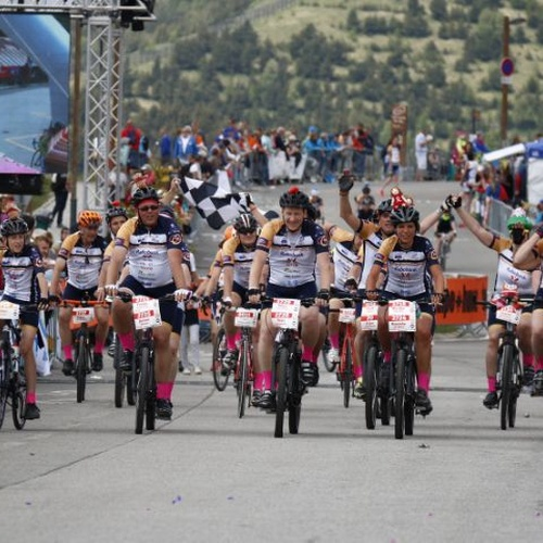 Participate in Alpe D'HuZes on a bike... I already did it on a tandem bike - Bucket List Ideas