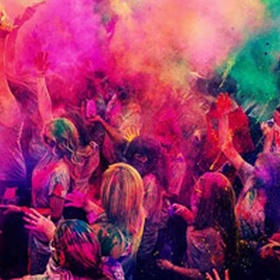 Have a color fight (Holi) - Bucket List Ideas