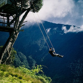 "Visit The swing at the ""End of the World"" in Baños, Ecuador - Bucket List Ideas"