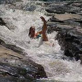 Go down a natural water slide - Bucket List Ideas