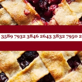 Memorize 42 digits of Pi - Bucket List Ideas