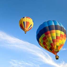 Go on a Hot Air Balloon - Bucket List Ideas