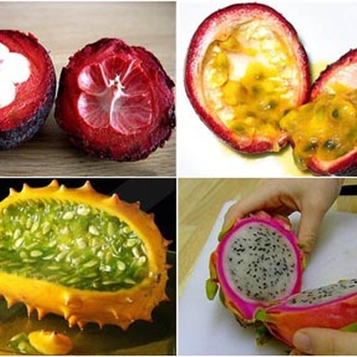 "Try All of the ""10 Must-Try Exotic Fruits"" - Bucket List Ideas"