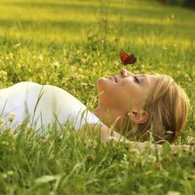 Lie on the Grass - Bucket List Ideas