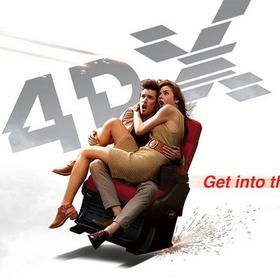 Watch a movie in 4DX - Bucket List Ideas