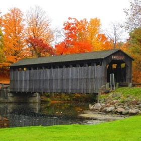 Walk through a covered bridge - Bucket List Ideas