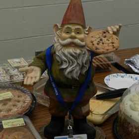 Get a picture taken the with Klein ISD gnome - Bucket List Ideas
