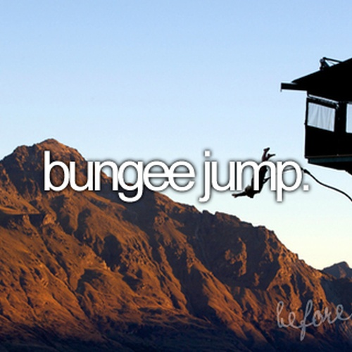 Bungee Jump - Bucket List Ideas